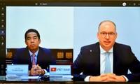 Vertiefung der strategischen Partnerschaft zwischen Vietnam und Deutschland in verschiedenen Bereichen
