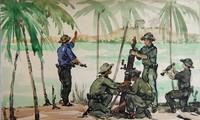 Ausstellung von 60 Bildern über die damalige Front in Zentralvietnam