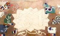 Kunstausstellung von 19 zeitgenössischen führenden Malern Vietnams