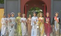 """Das Programm """"Ao Dai und Kulturerbe"""" wird nach der Covid-19-Epidemie organisiert"""