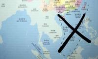 Australien holt Lehrbücher mit Neun-Striche-Linie zurück