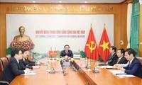 Der Online-Dialog zwischen Parteien Vietnams und Japans