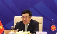 Erste Aktivitäten während der Konferenz der ASEAN-Außenminister