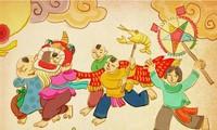 Das Mittherbstfest in der Zitadelle Thang Long in Hanoi
