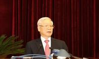 Eröffnung der Sitzung des KP-Zentralkomitees