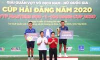 Junge Tennisspieler treffen sich in Tay Ninh