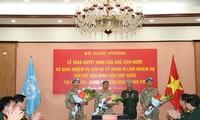 Drei weitere vietnamesische Offiziere setzen sich für Friedensmission ein