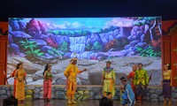 Das Bühnenkunst-Festival Du Ke in der Provinz Soc Trang