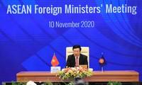 Eröffnung der inoffiziellen Konferenz der ASEAN-Außenminister