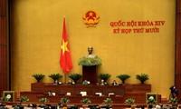 Erneuerung und Verbesserung der Tätigkeiten des Parlaments