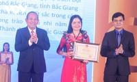 Feier zum Tag der vietnamesischen Lehrer