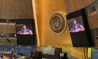 Die UN-Vollversammlung verabschiedet Beschluss über Zusammenarbeit zwischen ASEAN und der UNO