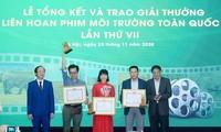 Ehrung der Filme über den Umweltschutz