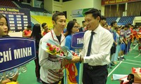 Eröffnung des Badminton-Turniers der ausgezeichneten Spieler