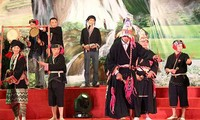 Veröffentlichung des Nationalkulturerbes für Cap Sac-Fest der Volksgruppe Dao
