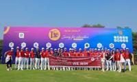 Abschluss des Golf-Turniers Thap Hung