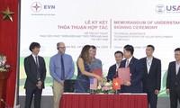 Die USA unterstützen die Entwicklung der erneuerbaren Energie in Vietnam
