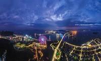 Winter-Karneval in der Küstenprovinz Quang Ninh