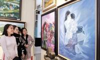 60 Kunstwerke werden in der Ausstellung in Lam Dong präsentiert