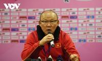Fußball-Trainer Park Hang-seo begrüßt das Neujahrsfest in der Quarantäne