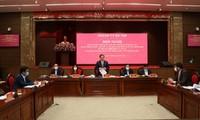Aufbau der Zitadelle Thang Long zum Kulturerbe-Park in Hanoi