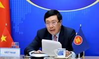 Virtuelle Sitzung der ASEAN-Außenminister
