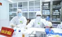 Rekrutierung der freiwilligen Probanden für den zweiten Covid-19-Impfstoff Vietnams
