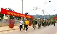 Mehr als 120 Grenzsoldaten und Grenzsoldatinnen beteiligen sich an Laufwettbewerb