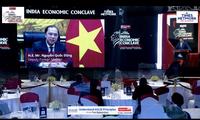 Vize-Außenminister Nguyen Quoc Dung nimmt an Wirtschaftskonferenz Indiens teil
