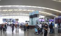 Plan für ausländische Flüge