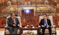 Hanoi verstärkt die Kooperation mit Provinzen in Finnland und Frankreich