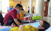 Aktivitäten zum Tag zur Blutspende