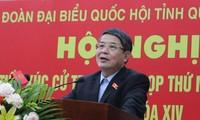 Vize-Parlamentspräsident Nguyen Duc Hai trifft Wähler in Quang Nam