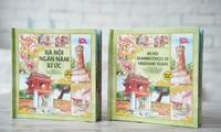 Das erste dreidimensionale Buch über Hanoi