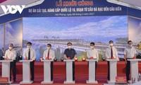 Parlamentspräsident nimmt an der Zeremonie zum Ausbau der Autobahn Nummer 10 teil