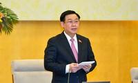 Parlamentspräsident Vuong Dinh Hue: Die Vorbereitung für die Wahlen ist fertig