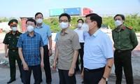 Vize-Premierminister Vu Duc Dam tagt mit Provinzen Bac Giang und Bac Ninh über Covid-19-Bekämpfung