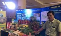 Agrarprodukte werden auf Online-Handelsmarkt verkauft
