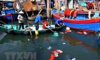 Welttag der Ozeane: Vietnam baut globale Vereinbarung über den Kampf gegen Plastikmüll