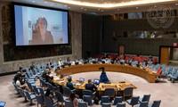 UN-Sicherheitsrat bewertet die Arbeit 15 Monate nach dem Ausbruch der Covid-19-Pandemie