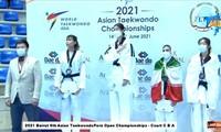 Nguyen Thi Anh Tuyet gewinnt Silbermedaille bei der asiatischen Taekwondo-Meisterschaft 2021
