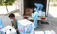 Sonderlinie für Fahrzeuge mit lebensnotwendigen Waren für Südvietnam