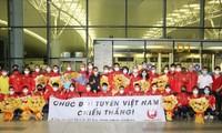 Die vietnamesische Sportdelegation ist für olympische Spiele in Tokio eingetroffen