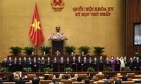 Das Parlament verabschiedet vier Vize-Premierminister und 22 Minister