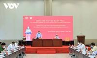 Staatspräsident trifft Leiter der Provinz Binh Duong