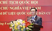 Parlamentspräsident: Die Nationaldaten über Einwohner dienen der sozioökonomischen Entwicklung