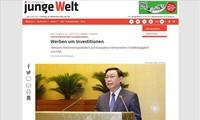 Junge Welt: Der Besuch des Parlamentschefs Vuong Dinh Hue demonstriert vielseitige und unabhängige Politik Vietnams