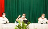 Vize-Premierminister Vu Duc Dam fordert Beschleunigung des Corona-Tests in Dong Nai