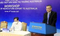 Chance zum Export der Fischerei-Produkte nach Australien
