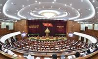 Erster Arbeitstag der 4. Sitzung des KP-Zentralkomitees der 13. Amtsperiode